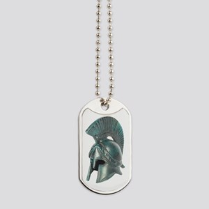 Antique Greek Helmet Dog Tags