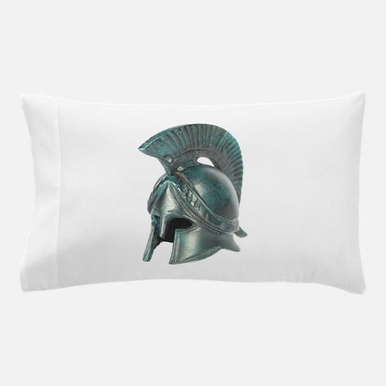 Antique Greek Helmet Pillow Case