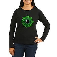 Irish 8 Ball Pool Women's Long Sleeve Dark T-Shirt