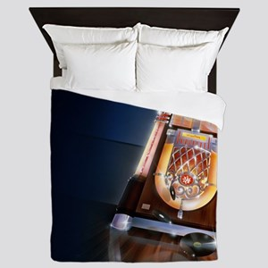 Classic Jukebox Queen Duvet