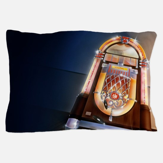 Classic Jukebox Pillow Case