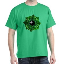 Irish 8 Ball Pool Player St Patricks Dark T-Shirt