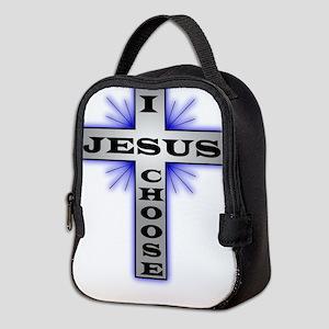 I Choose Jesus Neoprene Lunch Bag