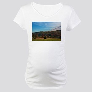 Gettysburg National Park - Farm Maternity T-Shirt