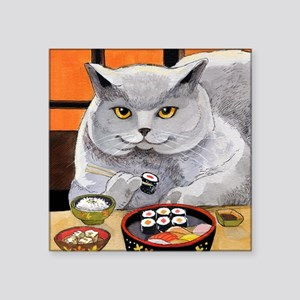 "Sushi Cat ""Big Fred"" Sticker"