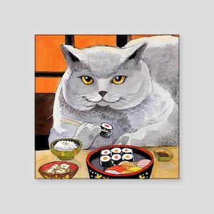 """Sushi Cat """"Big Fred"""" Sticker"""