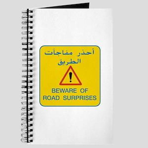 Beware of Road Surprises, UAE Journal