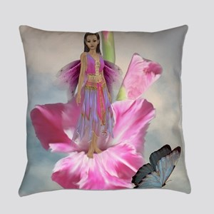 Pink Fairy Everyday Pillow