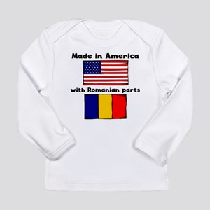 Made In America With Romanian Parts Long Sleeve T-