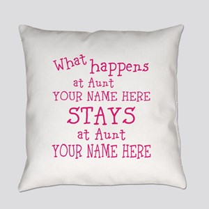 Aunts House Everyday Pillow