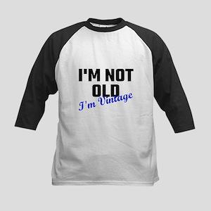 I Am Not Old I Am Vintage Baseball Jersey