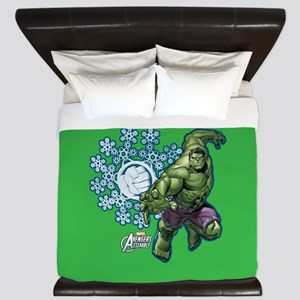 Avengers Holiday Hulk King Duvet