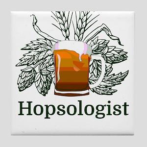 Hopsologist Tile Coaster