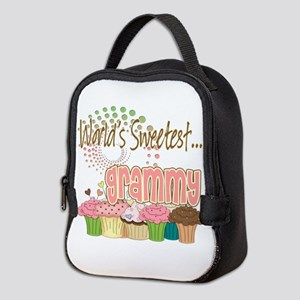 Sweetest grammy copy Neoprene Lunch Bag