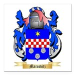 Marcovitz Square Car Magnet 3