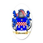 Marcovitch Oval Car Magnet