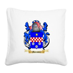 Marcovicz Square Canvas Pillow