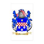 Marcovici Sticker (Rectangle 50 pk)