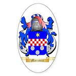 Marcovici Sticker (Oval 10 pk)