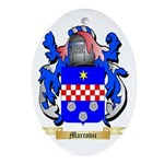 Marcovic Oval Ornament