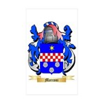 Marconi Sticker (Rectangle 10 pk)
