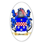 Marconi Sticker (Oval 10 pk)