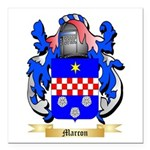 Marcon Square Car Magnet 3