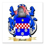 Marcoff Square Car Magnet 3