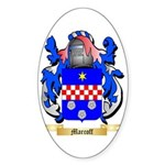 Marcoff Sticker (Oval 50 pk)