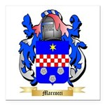 Marcocci Square Car Magnet 3