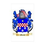 Marck Sticker (Rectangle 50 pk)