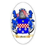 Marck Sticker (Oval 50 pk)