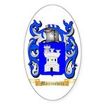 Marcinowicz Sticker (Oval 10 pk)