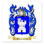 Marcinkus Square Car Magnet 3