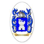 Marcinkowski Sticker (Oval 50 pk)