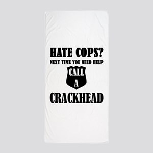 Hate Cops?Next Time You Need Help Call Beach Towel
