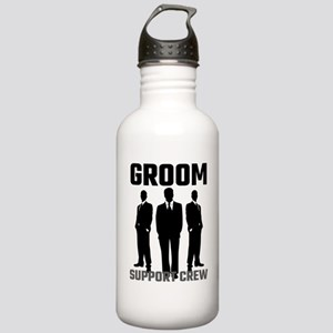Groom Support Crew Stainless Water Bottle 1.0L