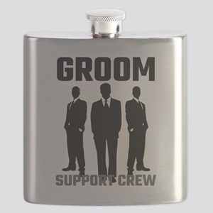 Groom Support Crew Flask