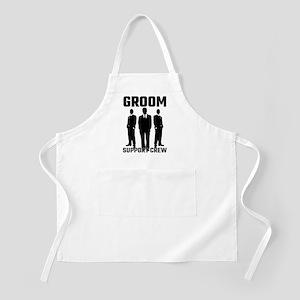 Groom Support Crew Apron