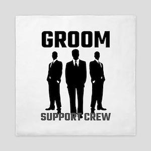 Groom Support Crew Queen Duvet