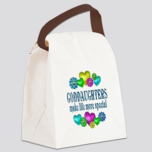 Goddaughters More Special Canvas Lunch Bag