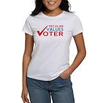 Secular Values Voter T-Shirt