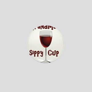 Grandma's Sippy Cup Mini Button