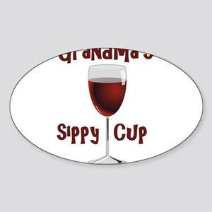 Grandma's Sippy Cup Sticker