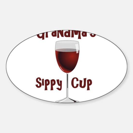 Grandma's Sippy Cup Decal