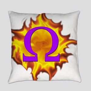 omega psi phi Everyday Pillow