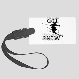 Got Snow? Large Luggage Tag
