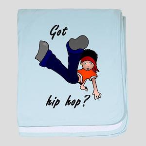 Got hip hop? baby blanket