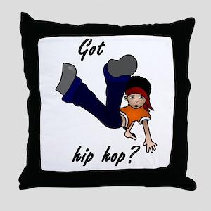 Got hip hop? Throw Pillow