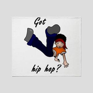 Got hip hop? Throw Blanket